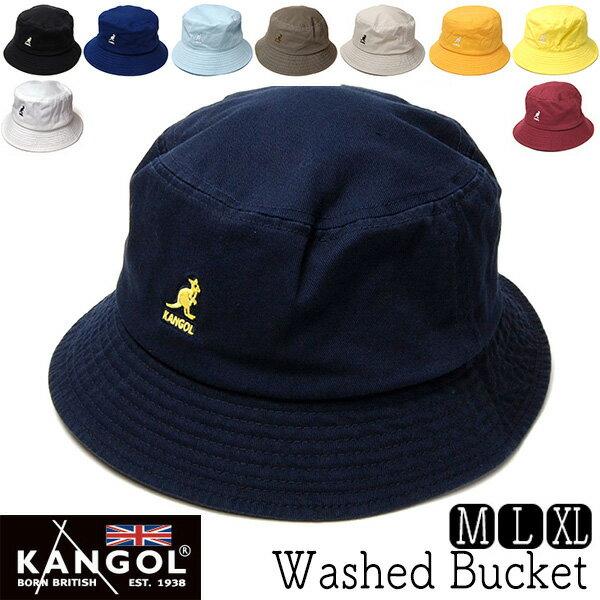 """帽子 """"KANGOL(カンゴール)""""コットンバケットハット[Washed Bucket] [ハット] 【コンビニ受取対応商品】【あす楽対応】"""