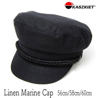 """Hat Poland """"KASZKIET (カシュケット)"""" linen Malin cap [hat ant of the big size] [small-sized hat]"""