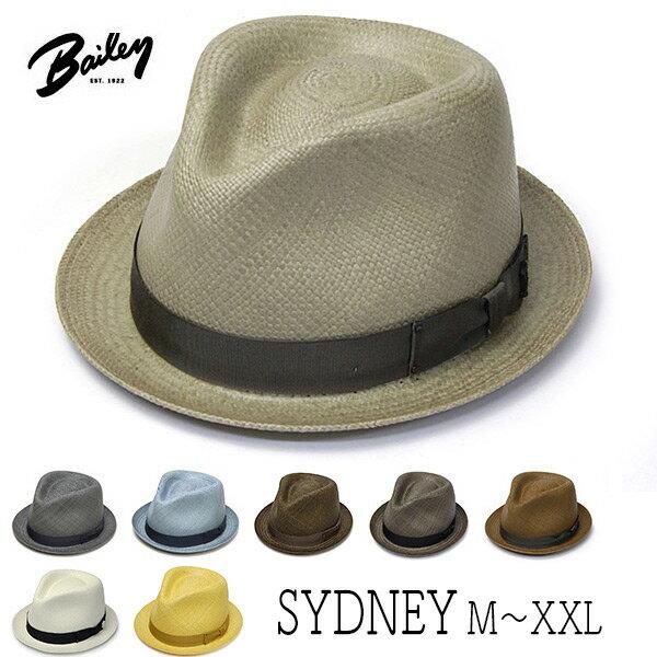 """帽子 【アウトレットS】 アメリカ""""Bailey(ベイリー)""""パナマ中折れ帽<SYDNEY>[ハット] 【あす楽対応】 【送料無料】[大きいサイズの帽子アリ]【コンビニ受取対応商品】"""