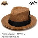 """帽子 アメリカ""""Bailey(ベイリー)""""パナマ中折れ帽<TESSIER>[ハット] 【あす楽対応】 【送料無料】[大きいサイズの…"""