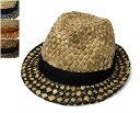 """帽子 【アウトレットS】 """"NOL(ノル)""""ストロー中折れ帽[ECENGON HAT][ハット] 【あす楽対応】 [大きいサイズの帽子アリ][小さいサイズあり]【コンビニ受取対応商品】 SSキャリーセール"""