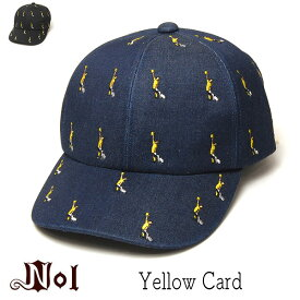 """帽子 """"NOL(ノル)"""" コットンキャップ Yellow Card メンズ レディース ユニセックス キッズサイズ 春夏秋冬 オールシーズン [大きいサイズの帽子アリ][小さいサイズの帽子]"""