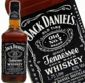 ジャックダニエル ブラック BIGボトル 1750ml 40度 正規輸入品 テネシーウイスキー Jack Daniel tennessee Whiskey kawahc 父の日ギフト お誕生日プレゼント にオススメ