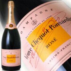 ヴーヴクリコ ポンサルダン・ブリュット ローズラベル (ロゼ) マグナムボトル 1.5L (1500ml) 正規輸入品 VEUVE CLICQUOT ROSE wine Campagne kawahc