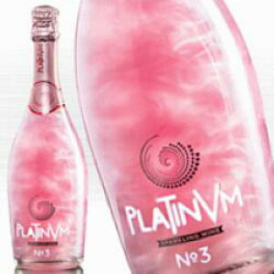 【ラメ入りスパークリングワイン】 プラチナム フレグランス No.3 ローズ&オレンジ 750ml 160年以上の老舗ワインメーカーが造るスペイン産 kawahc