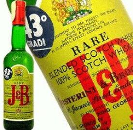 J&B オールドヴィンテージ 1980年代 ローテーション 750ml 43度 ウィスキー kawahc