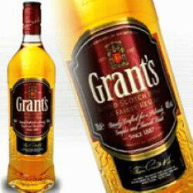 グランツ 700ml 40度 正規輸入品 スコッチウイスキー kawahc 父の日ギフト お誕生日プレゼント にオススメ