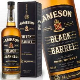 ジェムソン ブラックバレル 700ml 40度 正規輸入品 箱付 Jameson Irish Whisky アイリッシュ ウイスキー アイリッシュコーヒー にオススメ 紅茶 ウィスキー kawahc 父の日ギフト お誕生日プレゼント にオススメ