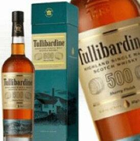 タリバーディン 500 シェリーフィニッシュ 700ml 43度 箱付 Tullibardine 500 SHERRY FINISH ハイランドモルト シングルモルトウイスキー HIGHLAND MALT Single Malt Scotch Whisky シングルモルトウイスキー kawahc 御中元 sale セール お中元