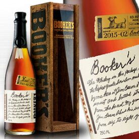 ブッカーズ 750ml 木箱 Bookers バーボン バーボンウイスキー ウヰスキー ウィスキー ウイスキー Bourbon whiskey Whisky kawahc ※おひとり様1ヶ月に1本限り
