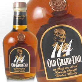 オールド グランダッド 114 750ml 57度 箱なし バーボン ウィスキー kawahc