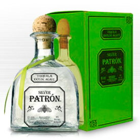パトロン シルバー テキーラ 700ml 40度 箱付 Patron Silver Tequila 100% de Agave メキシコ Mexico ホワイト テキーラ kawahc