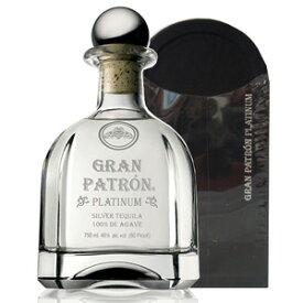 グラン パトロン プラチナ 750ml 40度 木箱 Patron GRAN PLATINUM Tequila 100% de Agave kawachi