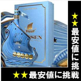 ラーセン スカイブルー シップ 700ml 40度 ライトブルー 箱付 (Larsen Sky Blue Viking Ship Fine Champagne Cognac) ブランデー コニャック kawahc