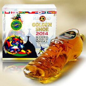 ゴールデンシュー(サッカースパイク型のスコッチ・ウイスキー) 700ml 40度 箱付 ブレンデッド・スコッチ・ウィスキー ウイスキー kawahc