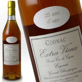 ポールジロー 25年 700ml 40度 正規輸入品 Paul Giraud グランシャンパーニュ コニャック Cognac Grande Champagne フランス産ブランデー French Brandy ジャパンインポートシステム輸入 kawahc