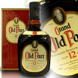 オールドパー 12年 750ml 40度 正規輸入品 箱付 Old Parr 12 Years Blended Scotch Whisky ブレンデッドスコッチウイスキー スコッチウイスキー スコッチ ウヰスキー ウィスキー ウイスキー Scotch Whisky whiskey kawahc 父の日ギフト お誕生日プレゼント にオススメ