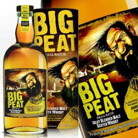 ビッグピート ブレンデッドモルト 700ml 46度 箱付 ビックピート ノンチルフィルター 無着色 BigPeat Islay Blended Malt Scotch Whisky kawahc