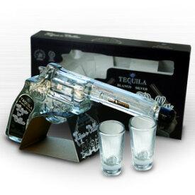 イホスデビジャ ブランコ リボルバー ボトル ショットグラス2個付 テキーラ 200ml 40度 正規 箱付 kawahc