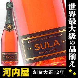 スラ・ヴィンヤーズ NV ロゼ・ブリュット 750ml (ロゼ<辛口>瓶内二次発酵) (519) ワイン 発泡 シャンパン スパークリング スパークリングワイン スパーク kawahc