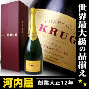 クリュッグ グラン キューベ ブリュット マグナム 1500ml 化粧箱入り 正規品 (Krug Grand Cuvee Brut Champagne) kawahc