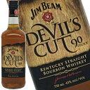 ジムビーム デビルズカット 750ml 45度 旧ボトル Jim Beam Devil's Cut バーボン バーボンウイスキー ウヰスキー ウィスキー ウイスキー Bourbon whiskey Whisky kawahc ※入手困難なオールドボトル デヴィル カット