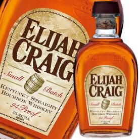 エライジャ クレイグ 12年 750ml 47度 正規代理店最終輸入ボトル Elijah Criag 12YO Bourbon Whiskey スモールバッチ バーボン バーボンウイスキー アメリカ SMALL BATCH kawahc ※おひとり様1ヶ月に1本限り