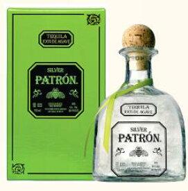 パトロン シルバー テキーラ 700ml 40度 箱付 Patron Silver Tequila 100% de Agave メキシコ Mexico ホワイト テキーラ 100%アガベ テキーラ kawahc 父の日ギフト お誕生日プレゼント にオススメ