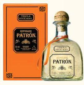 パトロン レポサド テキーラ 750ml 40度 箱付 Patron Reposado Tequila 100% de Agave メキシコ Mexico 100%アガベ テキーラ kawahc