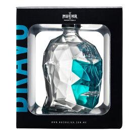 ムチャ リガ ブラーヴォ ブランコ ブルーアガヴェ100% プレミアムテキーラ 750ml 40度 正規輸入品 箱付 MUCHA LIGA BLANCO ホワイト 100% De BLUE AGAVE TEQUILA メキシコ Mexico kawahc