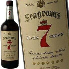 シーグラム 7クラウン 1000ml 40度 (Seagram`s Seven Crown) バーボン ウィスキー (セブンクラウン) セヴンクラウン kawahc 父の日ギフト お誕生日プレゼント にオススメ