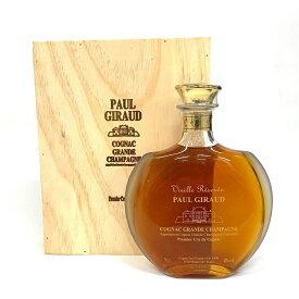 ポールジロー エリアンテ デキャンタ 700ml 40度 木箱付 ヴィエイユ レゼルヴ グランシャンパーニュ コニャック Paul Giraud VIEILLE RESERVE HELIANTHE DECANTER Cognac ブランデー kawahc フランス産