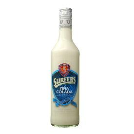 サーファーズ・ピニャコラーダ 700ml 15度 Surfers Pina Colada ドイツ産リキュール Germany Tropical liqueur リキュール種類 kawahc 父の日ギフト お誕生日プレゼント にオススメ 今年入荷の最新ボトル。このボトル以外は数年前の輸入で劣化している可能性があります。