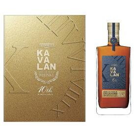 カバラン 10周年記念ボトル ポイヤック ボルドーワインカスク シングルモルト ペアグラスセット 1000ml 57.8度 正規輸入品 箱付 カヴァラン BORDEAUX PAUILLAC WINE CASK MATURED Single Cask Single Malt CaskStrength Whisky kawahc