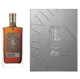 カバラン 10周年記念ボトル マルゴー ボルドーワインカスク シングルモルト ペアグラスセット 1000ml 57.8度 正規輸入品 箱付