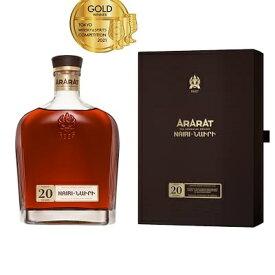 アララット 20年 ナイリ 500ml 40度 正規輸入品 ニューボトル ARARAT Armenia Brandy アルメニアブランデー 正規代理店輸入品 正規品 正規 kawahc