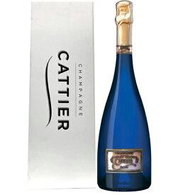 キャティア・サファイヤボトル ゴールド(サファイアゴールド) 750ml 箱付シャンパーニュ アルマンドブリニャックをつくる シャンパン アルマン・ド・ブリニャック ARMANDDE BRIGNAC Cattier Sapphire Gold Champagne kawahc
