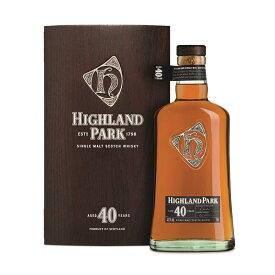 ハイランドパーク 40年 700ml 47.5度 正規輸入品 木箱 アイランズモルト シングルモルトウイスキー HIGHLAND PARK 40year Single Malt Whisky Whiskey ウィスキー ウヰスキー kawahc