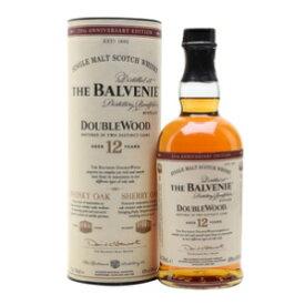バルヴェニー 12年 ダブルウッド 700ml 40度 箱付 The Balvenie 12 years Double Wood ザ バルベニー スペイサイドモルト シングルモルトウイスキー ウヰスキー SpeysideMalt Single Malt Scotch Whisky kawahc 父の日ギフト お誕生日プレゼント にオススメ