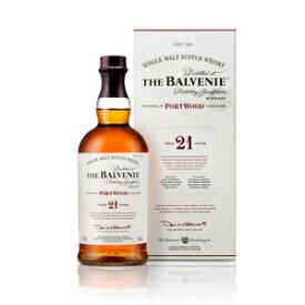バルヴェニー 21年 ポートウッド 700ml 40度 箱付 THE BALVENIE Port CASK AGED 21 YEARS バルベニー スペイサイドモルト シングルモルトウイスキー ウヰスキー SpeysideMalt Single Malt Scotch Whisky kawahc