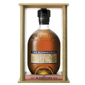 グレンロセス エディターズカスク [1979] 700ml 52.1度 正規輸入品 木枠付 #3828 THE GLENROTHES EDITORS CASK 1979 スペイサイドモルト シングルモルトウイスキー ウヰスキー ウィスキー SpeysideMalt Single Malt Scotch Whisky kawahc