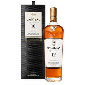 マッカラン 18年 シェリー[2020] 700ml 43度 正規輸入品 箱付 【おひとり様18年全ヴィンテージ含め1ヶ月1本限り】シングルモルトウイスキー The Macallan スペイサイドモルト SpeysideMalt single malt scotch whisky kawahc