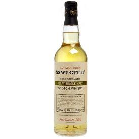 アズ ウィーゲット イット アイラモルト 700ml 約60度前後 ±3度 As We Get It Islay single malt Scotch Whisky kawahc お誕生日オススメギフト sale セール 早割 セール価格 決算 お取り寄せグルメ
