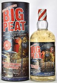 ビッグピート クリスマスエディション [2019] 正規輸入品 箱付 700ml 53.7度 ビックピート アイラモルト カスクストレングス ※年に1度の限定生産品 BigPeat Christmas Islay Blended Malt Scotch Whisky Limited Edhition Natural Cask Strength kawahc