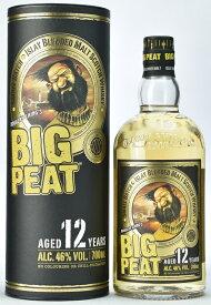 ビッグピート 12年 700ml 46度 正規輸入品 箱付 ブレンデッドモルト ビックピート ノンチルフィルター 無着色 BigPeat Islay Blended Malt Scotch Whisky kawahc