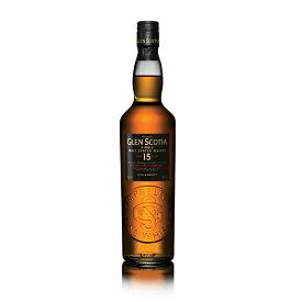 グレンスコシア 15年 700ml 46度 箱付 GLEN SCOTIA 15years キャンベルタウンモルト シングルモルトウイスキー CambertownMalt Single Malt Whisky Whiskey ウィスキー ウヰスキー kawahc