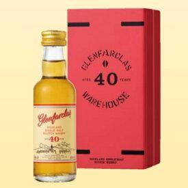 グレンファークラス 40年 レッドドア 50ml 43度 ミニチュアボトル 正規輸入品 箱付 Glenfarclas 40years グレン ファークラス スペイサイドモルト シングルモルトウイスキー SpeysideMalt Single Malt Scotch Whisky イギリス英国スコットランド産 kawahc