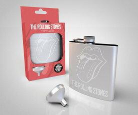 ローリングストーンズ・ヒップフラスク・スキットル 携帯ボトル 200mlサイズ Rolling Stones hip flask kawahc