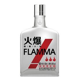 火爆 レッド FLAMMA 100ml 58度 正規輸入品 白酒 パイチュー 四川省 ファーバオ 中国酒 正規代理店輸入品 正規品 正規 chinese spirits kawahc