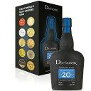 ディクタドール ラム 20年 700ml 40度 正規輸入品 Dictador 20 Years Rum コロンビア産ラム Colombian Aged Rum 正規…